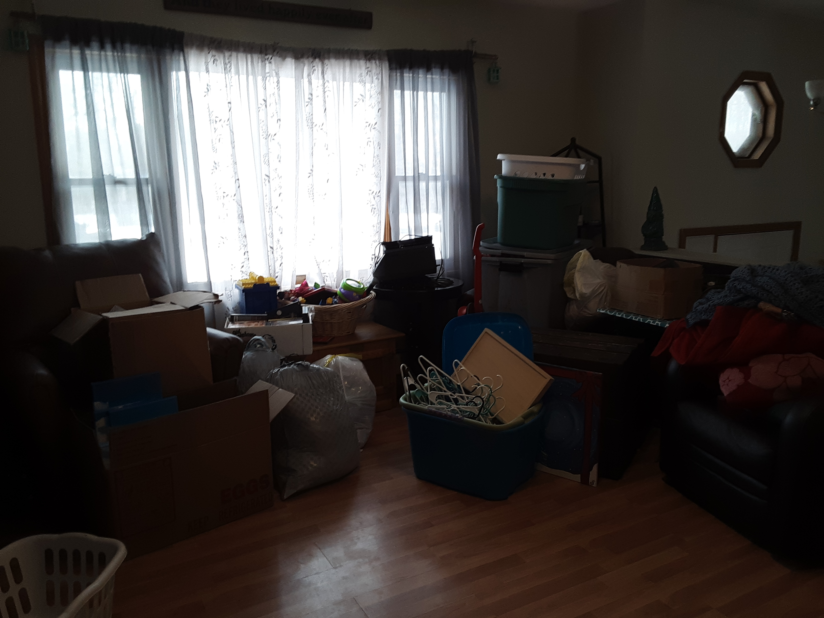 Clutter to be cleared