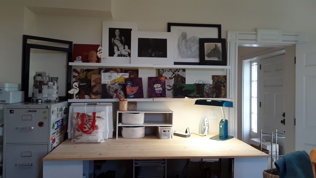The full-on view, clutter free!