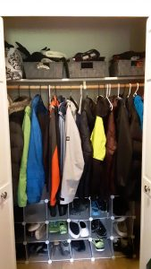 """A more """"workable"""" closet"""